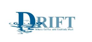 Logo for Drift Cafe, Gloucester MA