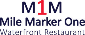 Logo for Mile Marker One Waterfront Restaurant
