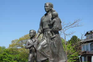 Fisherman Wives Statue Gloucester MA