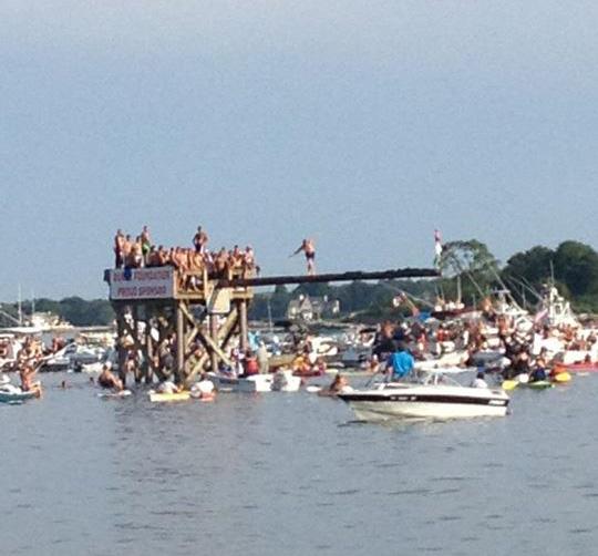 Greasy Pole & Seine Boat Races...