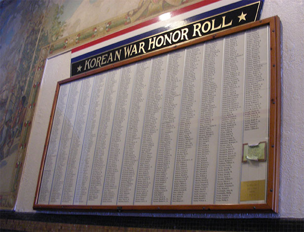 Korean War Honor Roll, Gloucester MA