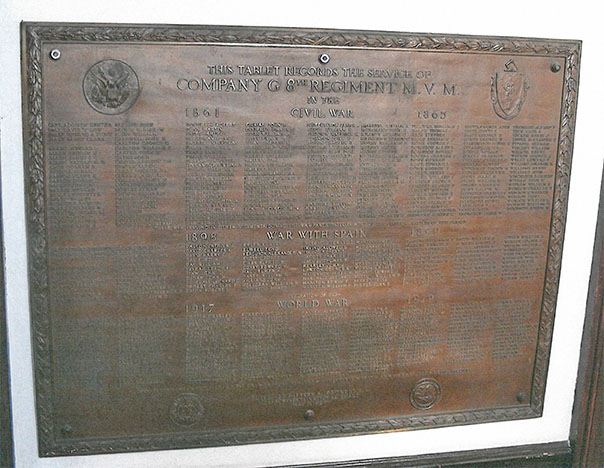 Memorial Plaque, City Hall, Gloucester MA