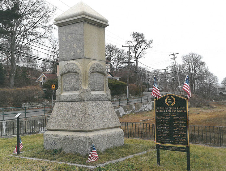 Riverdale Civil War Memorial, Gloucester MA