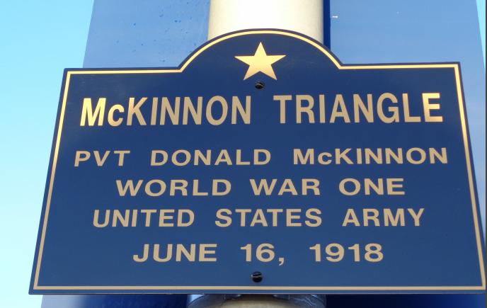 McKinnon Triangle, Gloucester MA