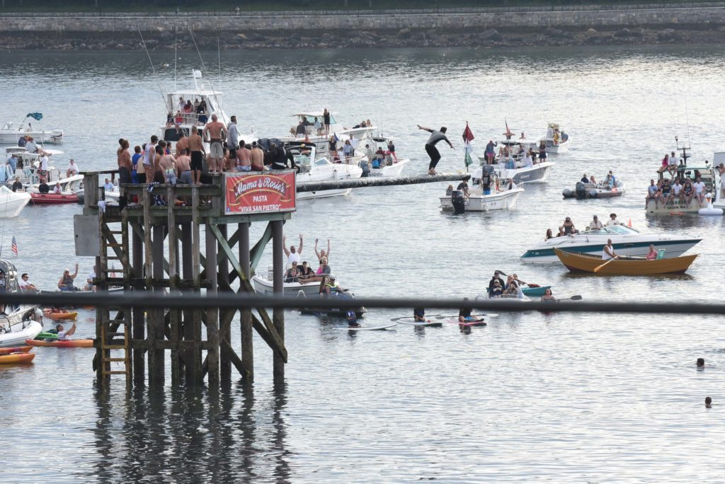 The Greasy Pole at Saint Peter's Fiesta, Discover Gloucester, MA