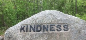Babson Boulder Kindness in Dogtown, Gloucester, MA