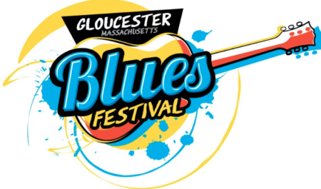 Logo for the Gloucester Blues Festival