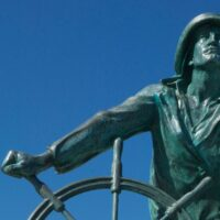 The Man at the Wheel, Discover Gloucester, MA
