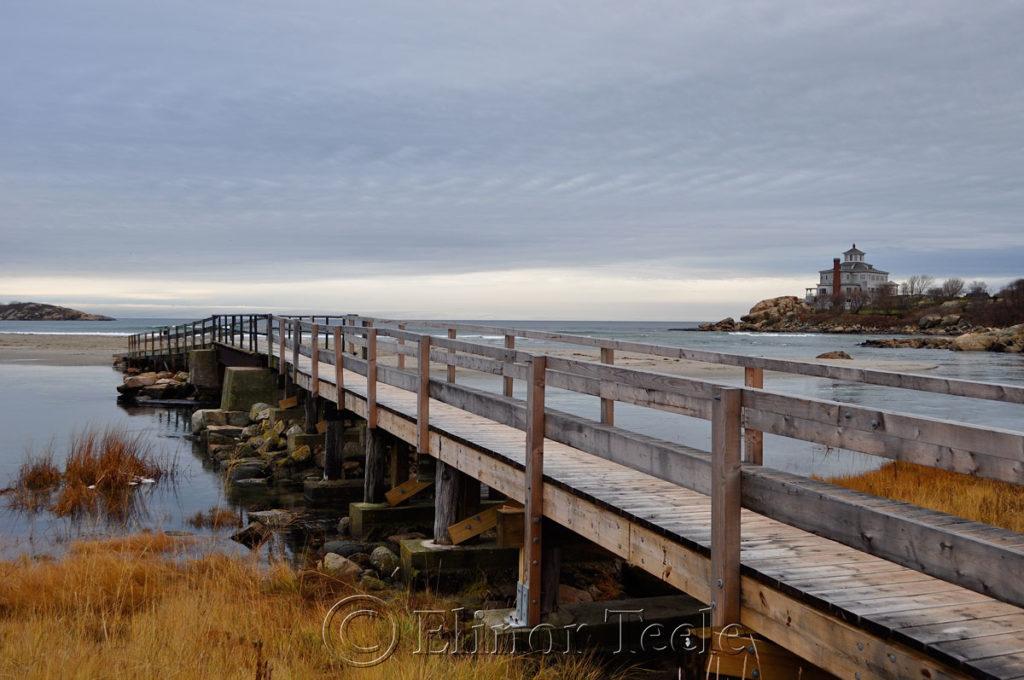 The foot bridge to Good Harbor Beach, Discover Gloucester MA