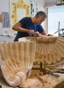 David Calvo, Wood Carver, Calvo Woodcarving School