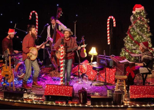 A folkie Christmas with Parsonfiled at Rockport Music