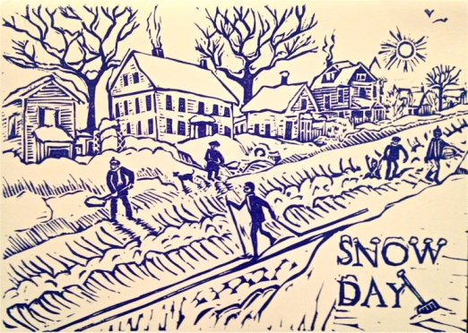 Image credit: Snow Day. Courtesy of Mary Rhinelander | Cape Ann Museum