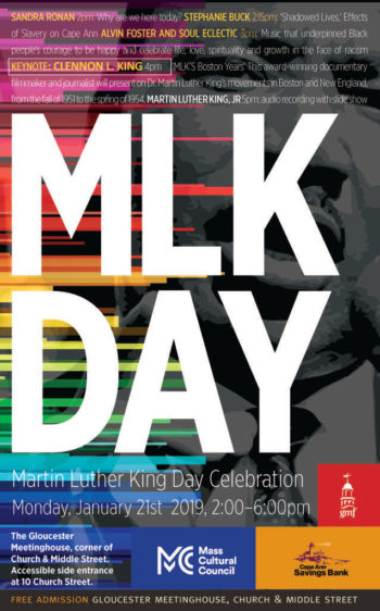 Annual Martin Luther King, Jr. Day Celebration | Gloucester Meetinghouse Foundation