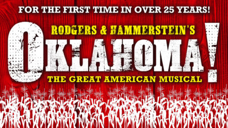 Poster for North Shore Music Theatre's Oaklahoma