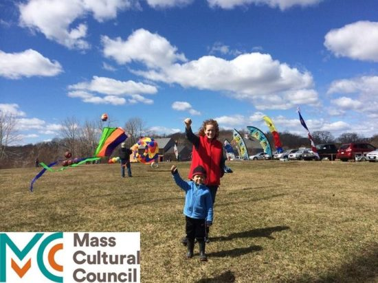 Kite Flyers at Cogswell's Grant Kite Day Event