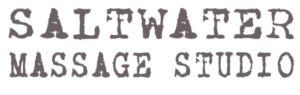 Logo for Saltwater Massage Studio