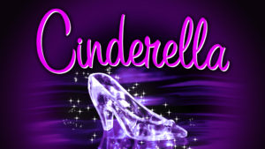 Cinderella event poster at North Shore Music Theatre