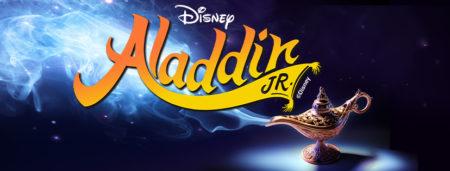 Disney's Aladdin Jr. event poster at North Shore Music Theatre
